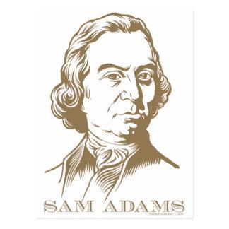 Sam Adams Tarjetas Postales