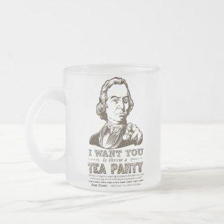 Sam Adams Tea Party Customizable Mugs mug
