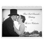 Sam And Amanda's Wedding~The 2011 Calendar