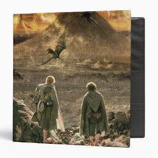 Sam and FRODO™ Approaching Mount Doom Binder