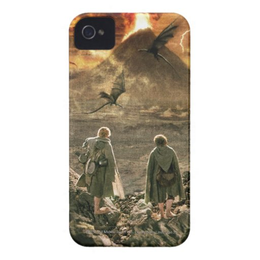 Sam and FRODO™ Approaching Mount Doom Case-Mate iPhone 4 Cases