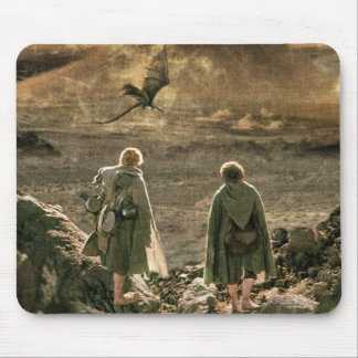 Sam and FRODO™ Approaching Mount Doom Mouse Pad