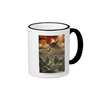 Sam and Frodo Approaching Mount Doom Coffee Mug