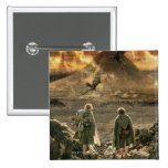 Sam and FRODO™ Approaching Mount Doom Pinback Button