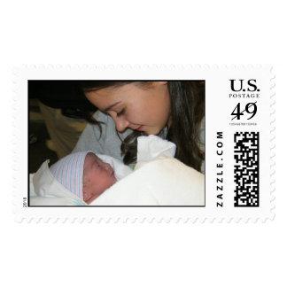 Sam and Ollie Postage Stamp