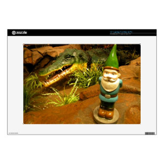 """Sam and the Gator Decal For 15"""" Laptop"""