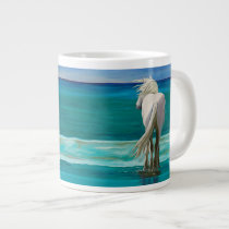 Sam at the Beach #5 horse art coffee mug by LAWebb