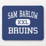 Sam Barlow - Bruins - High School - Gresham Oregon Mouse Pads