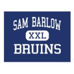 Sam Barlow - Bruins - High School - Gresham Oregon Postcards
