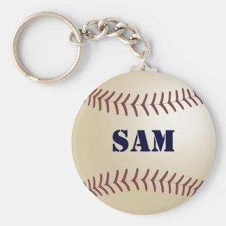 Sam Baseball Keychain by 369MyName