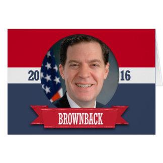SAM BROWNBACK 2016 GREETING CARD
