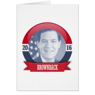 SAM BROWNBACK 2016 GREETING CARDS