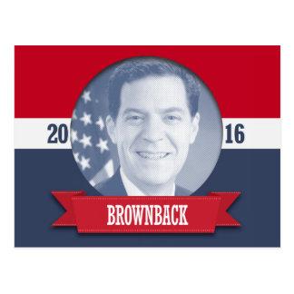 SAM BROWNBACK 2016 POST CARDS