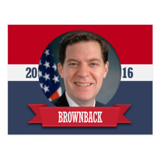 SAM BROWNBACK 2016 POSTCARDS