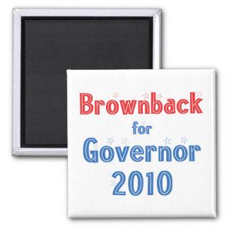 Sam Brownback for Governor 2010 Star Design Magnet