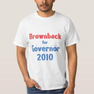 Sam Brownback for Governor 2010 Star Design T-Shirt