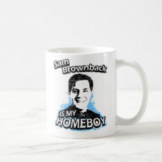 Sam Brownback is my homeboy Mugs