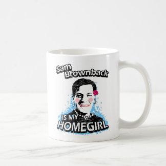 Sam Brownback is my homegirl Coffee Mug