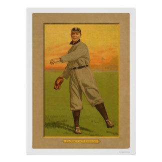 Sam Crawford Tigers Baseball 1911 Print