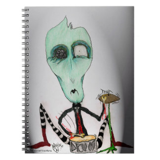 Sam- Ghoulie Band Drummer Notebook