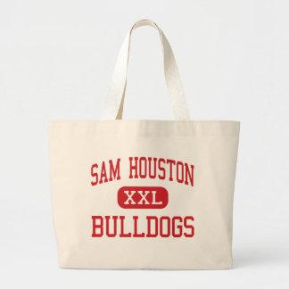 Sam Houston - Bulldogs - Middle - Marshall Texas Jumbo Tote Bag