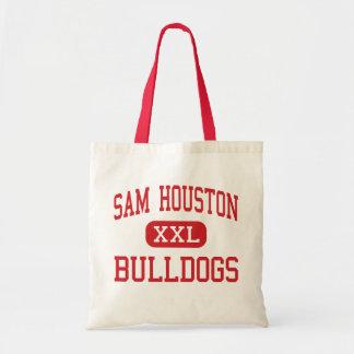Sam Houston - Bulldogs - Middle - Marshall Texas Budget Tote Bag