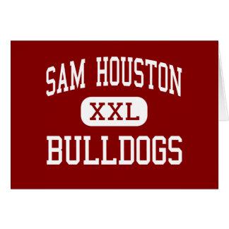 Sam Houston - Bulldogs - Middle - Marshall Texas Greeting Card