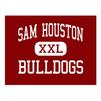 Sam Houston - Bulldogs - Middle - Marshall Texas Postcard