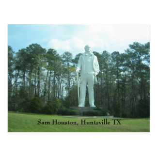 Sam Houston, Huntsville TX Postcard