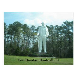 Sam Houston, Huntsville TX Postcard