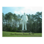 Sam Houston, Huntsville TX Tarjeta Postal