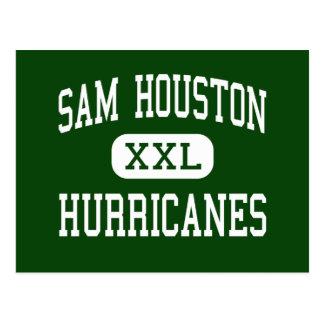 Sam Houston - Hurricanes - High - San Antonio Postcard