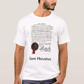 Sam Houston Letter 1843 T-Shirt
