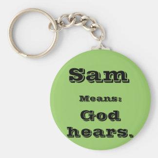 Sam Keychain