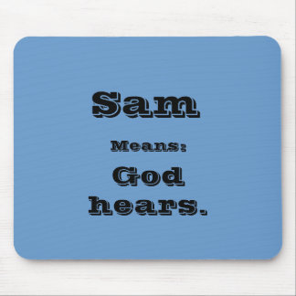 Sam Mouse Pads