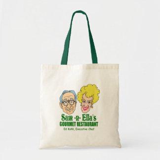Sam -n- Ella's Restaurant Budget Tote Bag