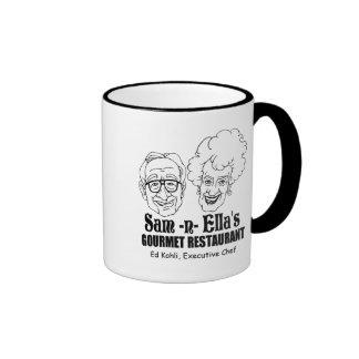 Sam -n- Ella's Restaurant Ringer Coffee Mug