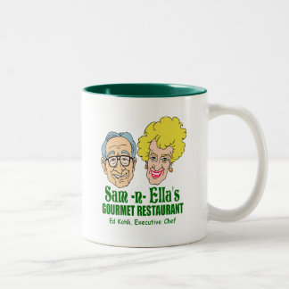 Sam -n- Ella's Restaurant Two-Tone Coffee Mug