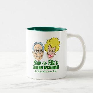 Sam -n- Ella's Restaurant Two-Tone Coffee Mug