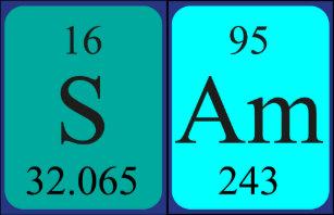 The name sam keychains zazzle sam periodic table name keyring urtaz Gallery