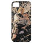 Sam que sostiene Frodo iPhone 5 Protectores