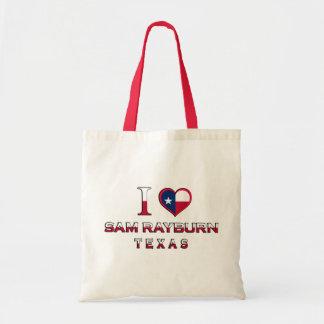 Sam Rayburn, Texas Canvas Bags
