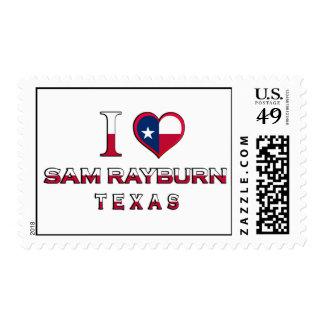 Sam Rayburn, Texas Stamp