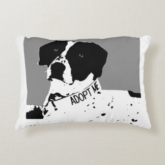 SAM-Rescue Me Dog Blanket Accent Pillow