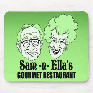 Sam - restaurante de la n Ella Alfombrilla De Ratón