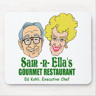 Sam - restaurante de la n Ella Alfombrillas De Ratón