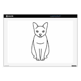 Sam Sawet Cat Cartoon Laptop Skin