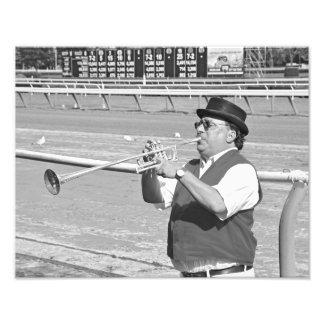 Sam the Bugler Photo Print
