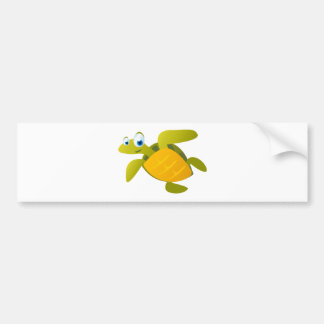 Sam The Sea Turtle Bumper Sticker