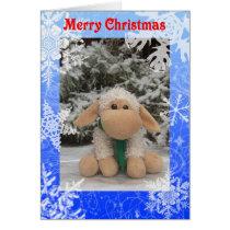 Sam The Sheep Christmas Card